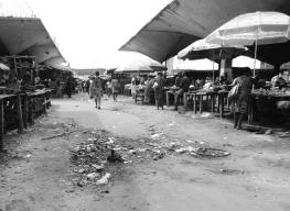 Marché central de Kinshasa. Ph. Droits tiers.