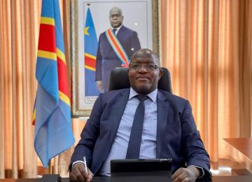 Willy Kitobo, ministre des Mines. Ph. Droits tiers.