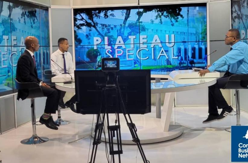 Congo Business Network  au plateau de Univers TV